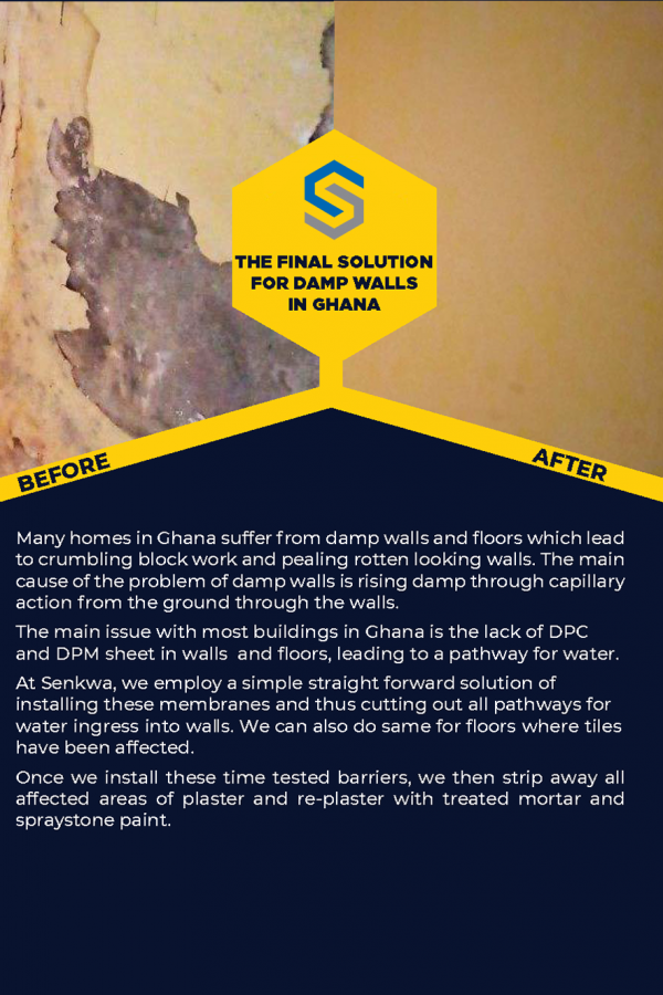 Damp proofing solution front